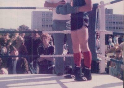 Al boxing aged 14