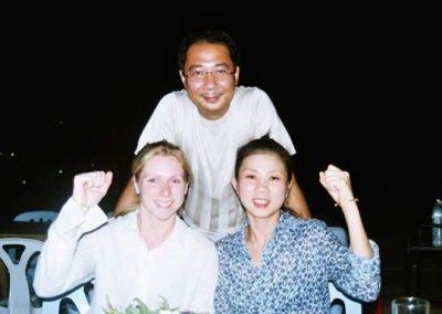 Mr Thakoon, Elly, Khun Ai